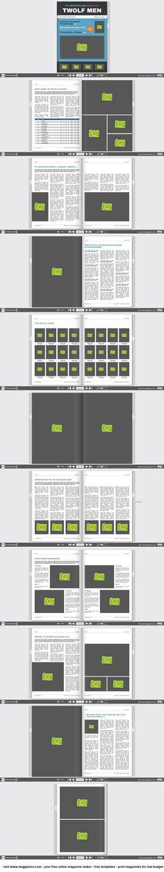Vereinszeitung kostenlos online erstellen und günstig drucken unter https://de.magglance.com/vereinszeitung-vorlage #Zeitung #Magazin #Vereinszeitung #Vorlage #Design #Muster #Beispiel #Template #Gestalten #Erstellen #Layout