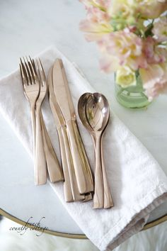 Crushing on~ Rose Gold - FRENCH COUNTRY COTTAGE