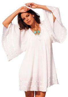 Gauze Angel Coverup by Full Beauty on CurvyMarket.com Plus Size