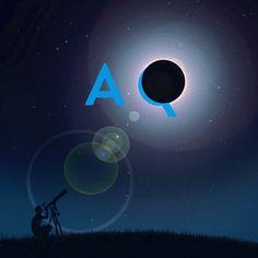 #LunarEclipse #MoonIllustration #AQuest