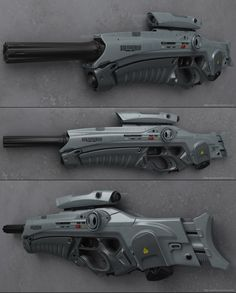 concept sci fi rifles | ... art objects weapons 2011 2013 peterku concept of sci fi rifle kodo