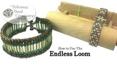"In this video tutorial, Allie Buchman teaches you how to use Deb Moffett-Hall's ""Endless Loom,"" which is a brand new beading loom with no warp threads. It al..."