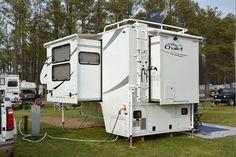 Chalet TS116 triple-slide truck camper prototype