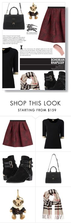"""""""Burberry"""" by itsmeambra ❤ liked on Polyvore featuring Burberry"""