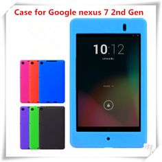 Find More Covers & Cases Information about  tablet pc cases silicon case Only For Google Nexus 7 2nd Gen Cover  ,anti shock case for nexus 7 II  case ,High Quality case bag,China case book Suppliers, Cheap nexus s leather case from Chinese Style Style store  on Aliexpress.com