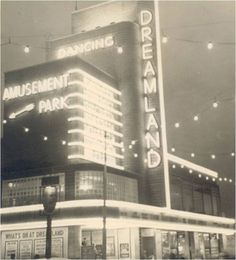 Dreamland Cinema Margate - soon to be restored to this former neon wonder thanks to Heritage Lottery Funding and huge amount of community effort, fabulous