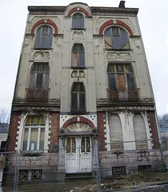 Varied cityscapes in the city and province of Liège, Belgium Part 1 - SkyscraperCity Art-Nouveau house in Verviers