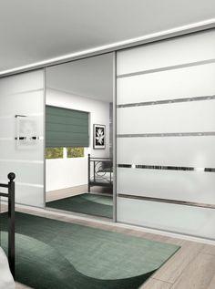 Sliding wardrobe doors Classic 32mm steel