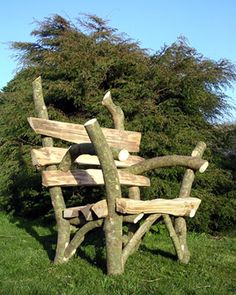 Lovely rustic chair
