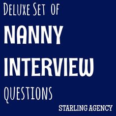Are you about to begin nanny interviews? Check out this list of the top seven most important questions to ask nannies from The Nanny Doctor. Interview Techniques, Job Interview Tips, Interview Questions, The Nanny, Nanny Agencies, Nanny Services, Nanny Binder, Nanny Quotes, Nanny Share