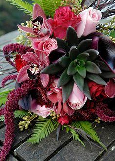 A funky bouquet
