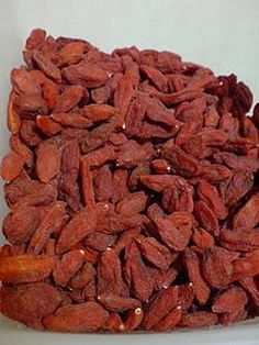 Check out this site that uses chinese medical herbs to make soup.   Dried goji berries are known as gou ji zi in mandarin and kei chi in cantonese. They are quite sweet and are found as an ingredient in many chinese soups, sweet teas and tonic drinks. It is one of the most popular chinese herbs. Not very expensive either.