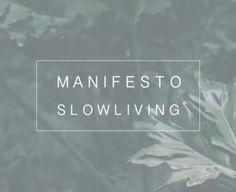 Nosso primeiro vídeo no canal do youtube é sobre o Manifesto Slow Living! Se inscreva em nosso canal para acompanhar mais sobre o tema
