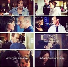 My favorite TV duo EVER. Their love was one of pure friendship. It wasn't about romance or sexual tension--it was always about being partners through and through.