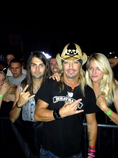 Tony and Bret Michaels (Poison)  Follow us : www.facebook.com/rustedrock  Twitter : @rustedrock  Instagram : @tonyrust