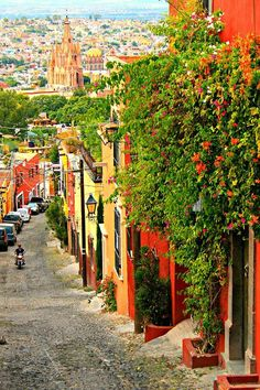 A beautiful town, San Miguel de Allende, Mexico