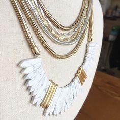 Collier EZRA très modulable  juste 2 parties nouvelle co A Shopper sur mon site ( lien dans ma bio ) http://ift.tt/1P5gAbZ  http://ift.tt/1lmkJx3 . . .  #stelladot#stelladotfr #stellaanddot #stelladotstyle#bijou #accessoire #collier#bracelet#boucledoreille #instasmile #instamode #mode#fashion#stelladotstylist#vdi#stelladotfrance #bijoux#accessoires#mode.
