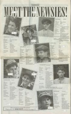 Newsies the Musical Promotional Paper The by SixToesInnovations