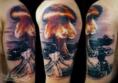 Tattoos - Shad Perlich - Atomic Bomb | Tattoodles ...