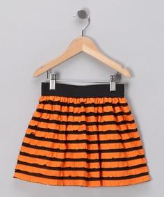 Little Spud Boutique Stripe Skirt - Infant, Toddler & Girls-GO SF GIANTS!!! #fall #zulily