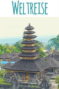 Pura Besakih, Bali, Indonesien / Artikel auf meinem Reiseblog: 1 Jahr Weltreise - meine Highlights & Erfahrungen aus 14 Ländern