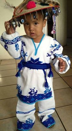 Mexican boy in a traditional outfit.