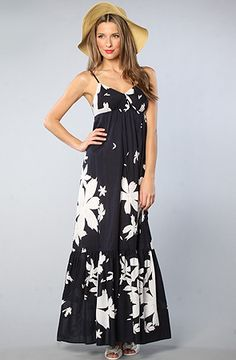 Floral Pareo Maxi Dress by Quiksilver, Save 20% off your order with Rep Code: PAMM6 at #Karmaloop