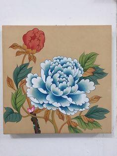 이웃님들 안녕하세용날씨가 옴춍 추워졌어용! 화실도 같이 추워졌어요. 제 화실은 40년된 아파트 안에 있는... Korean Painting, Chinese Painting, Japanese Drawings, Japanese Art, Korean Art, Asian Art, Easy Flower Drawings, Flower Crew, Sharpie Art