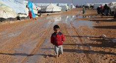 For all refugees of war, especially the Syrians in this Jordanian camp.
