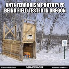Oregon standoff: What you need to know Friday morning Political Beliefs, Political Memes, Politics, Vote Sticker, Republican Leaders, We Are Strong, Can't Stop Laughing, Right Wing, Going Vegan
