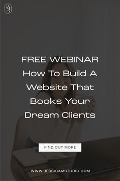 Want to know what you need to build a website that books your dream clients, than don't miss out! Squarespace | Website Design | How to DIY your website | Website tips | Design tips | Creative business | Business growth | Entrepreneur | Step by step business | Start an online business | Website | Small business | Branding tips