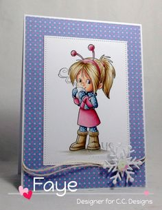 Find information about my Copic Classes here. Christmas Cards, Merry Christmas, Xmas, Christmas Characters, Tampons, Copics, Copic Markers, Clear Stamps, Cute Kids