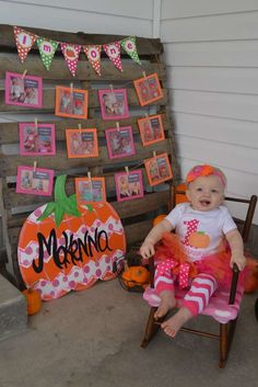 Pumpkins / Fall / 1st Birthday Birthday Party Ideas | Photo 29 of 38