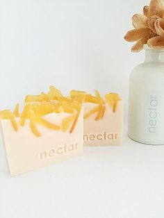 Nectar make organic handmade soap bars using natural & organic ingredients. Try one of our scrumptious fragrances or go fragrance-free for sensitive types. Essential Oils Soap, Honey Soap, Green Clay, Luxury Soap, Pink Grapefruit, Home Made Soap, Handmade Soaps, Bar Soap, Shea Butter