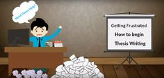 Getting frustrated How to begin #thesis writing? Need #thesishelp? Call today +91-96531-59085 - #Techsparks