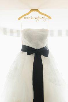 beautifu wedding dress with black sash http://www.sodazzling.com/wedding-dresses-neckline/