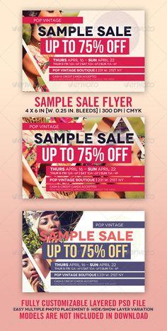 Sample Sale Flyer  - GraphicRiver Item for Sale