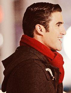 scarf, pea coat, perfect hair...men take notes