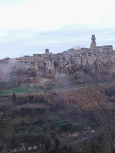 "Pitigliano and the Etruscan ""Vie Cave"" #maremma #tuscany #borghi #villages #scavi #archeologia #archaeology"