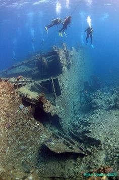 Wreck Diving in Egypt - the Chrisoula K, snorkel or scuba, both have there benifits Abandoned Ships, Abandoned Places, Sunken City, Maurice, Shipwreck, Sea World, Underwater Photography, Ocean Life, Marine Life