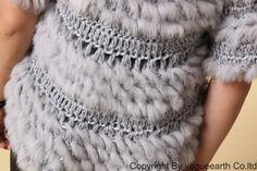 fur and crochet...  Вязаный мех.Идеи.. Комментарии : LiveInternet - Российский Сервис Онлайн-Дневников