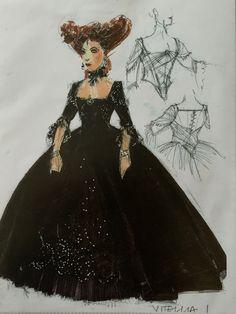 La Clemenza di Tito. (Vitellia). Sante Fe Opera. Costume design by David Zinn.