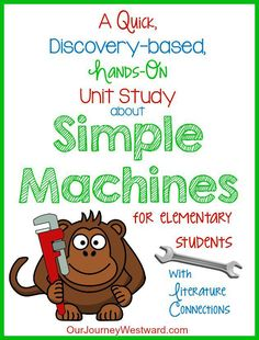 I love to teach simple machines through hands-on, experimental lessons. While it took just a bit of time to gather materials, the engagement factor made this quick and simple unit study a hit with…