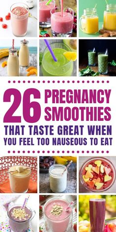 26 Easy Pregnancy Smoothie Recipes Perfect for your first trimester 26 Easy Pr. - 26 Easy Pregnancy Smoothie Recipes Perfect for your first trimester 26 Easy Pregnancy Smoothie Re - Apple Smoothies, Breakfast Smoothies, Healthy Smoothies, Smoothie Recipes, Smoothies Coffee, Healthy Foods, Meal Replacement Shakes, Meal Replacement Smoothies, Pregnancy Smoothies