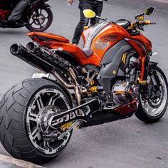 Kawasaki Orange Wallpapers) – Free Backgrounds and Wallpapers Custom Street Bikes, Custom Sport Bikes, Moto Bike, Motorcycle Bike, Vrod Custom, Custom Baggers, Vespa Scooter, Kawasaki Bikes, Motos Kawasaki