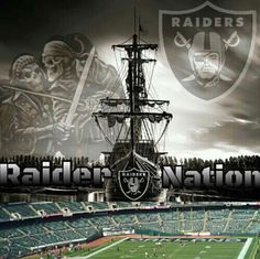 Raider Nation I Bleed Silver and Black!