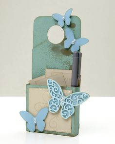 A link to instructions to make your own butterfly shapes with the Cricut® Art Philosophy cartridge! #CTMH