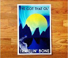travenlin' bone