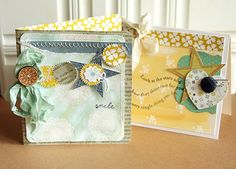 Cards by Danielle Flanders  Homespun with Heart: the white room challenge.