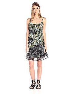 12, Black - Noir (Negro), Desigual Women's Vest_celina Sleeveless Dress NEW